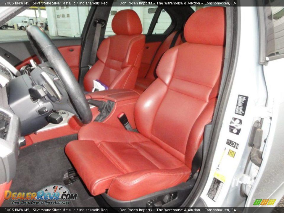 Indianapolis Red Interior - 2006 BMW M5 Photo #17   DealerRevs.com