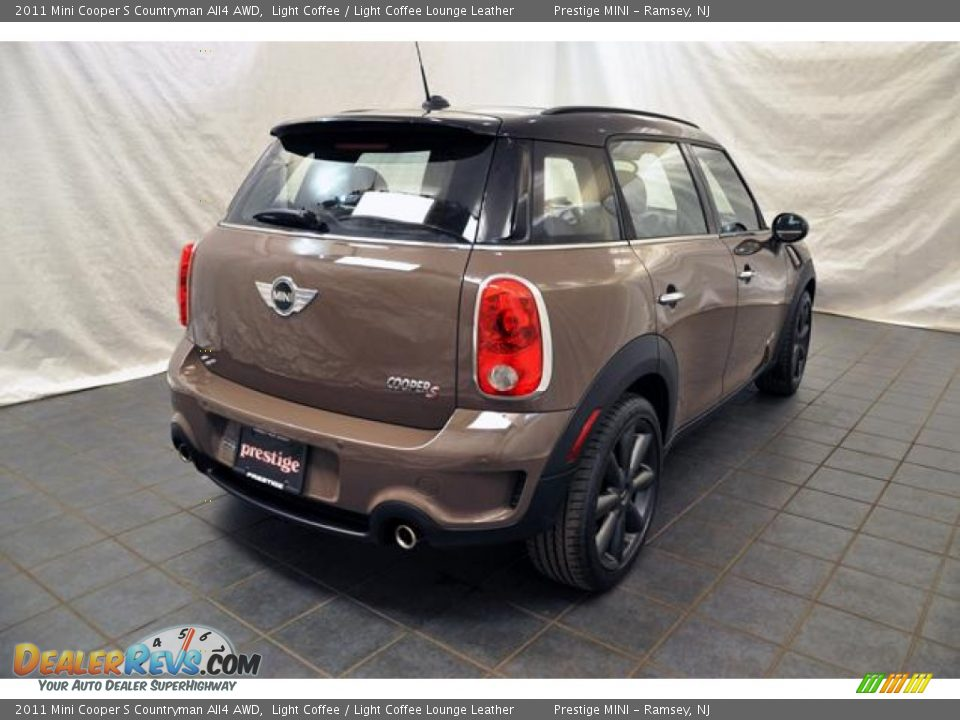 light coffee 2011 mini cooper s countryman all4 awd photo 2. Black Bedroom Furniture Sets. Home Design Ideas