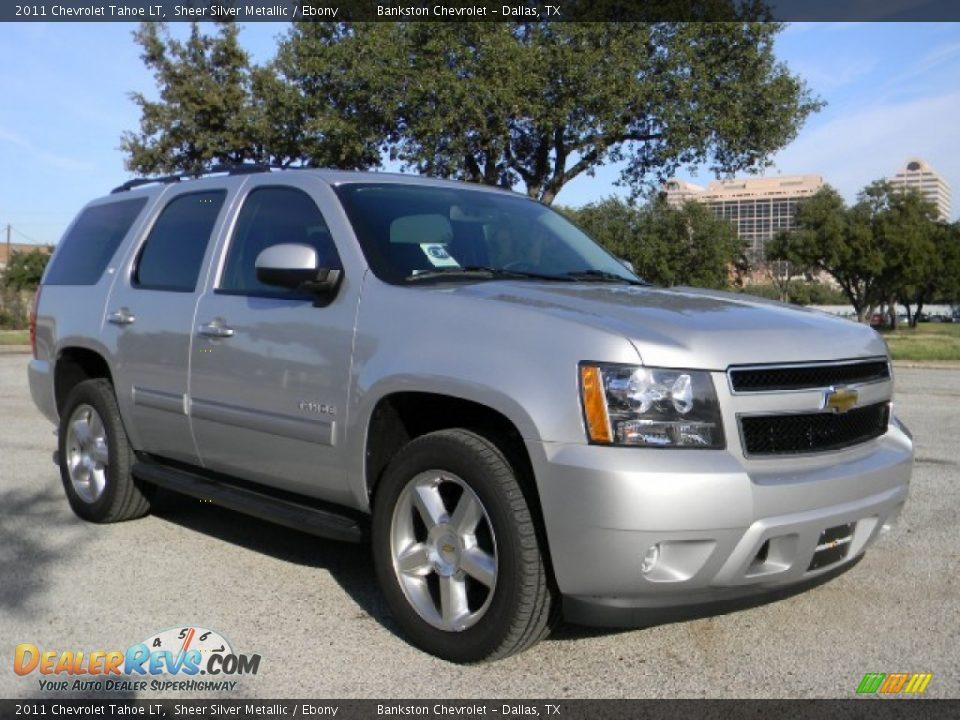 2011 Chevrolet Tahoe LT Sheer Silver Metallic / Ebony ...