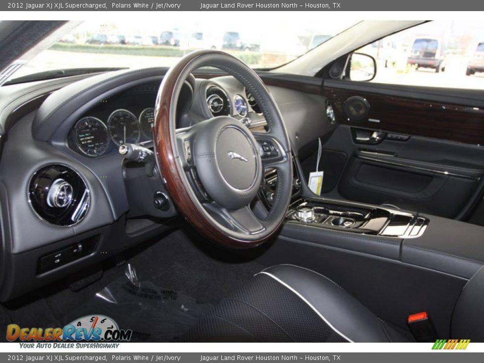 jet ivory interior 2012 jaguar xj xjl supercharged photo. Black Bedroom Furniture Sets. Home Design Ideas