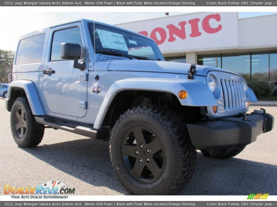 2012 Jeep Wrangler Unlimited Arctic Edition Winter Chill