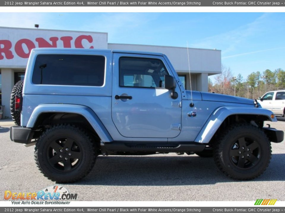 2012 jeep wrangler sahara arctic edition 4x4 winter chill pearl black with polar white accents. Black Bedroom Furniture Sets. Home Design Ideas