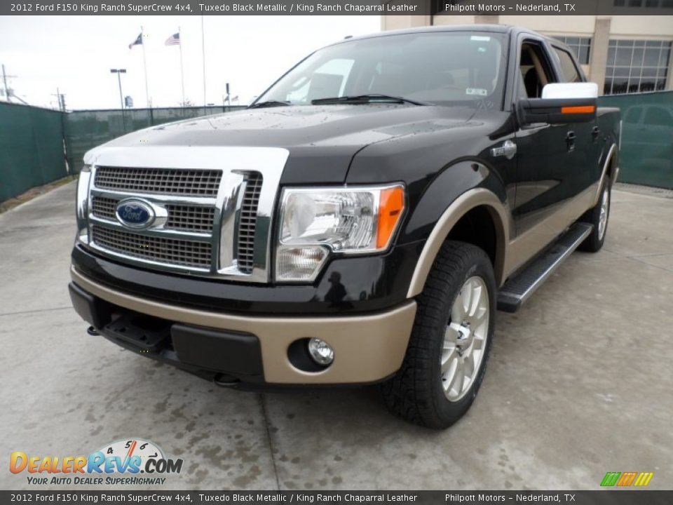 front 3 4 view of 2012 ford f150 king ranch supercrew 4x4 photo 7. Black Bedroom Furniture Sets. Home Design Ideas