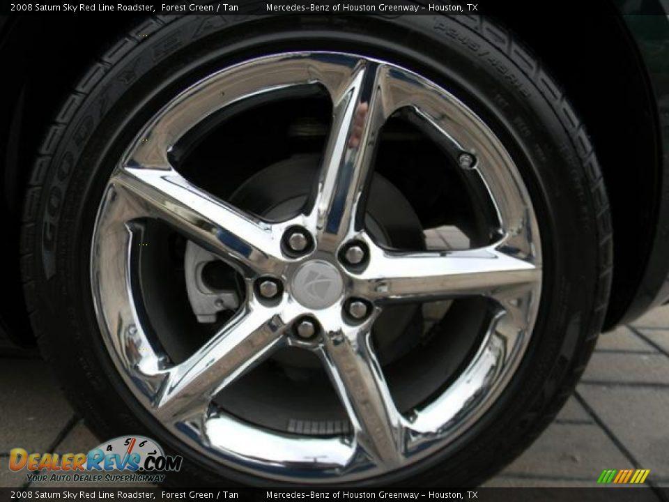 2008 Saturn Sky Red Line Roadster Wheel Photo 10