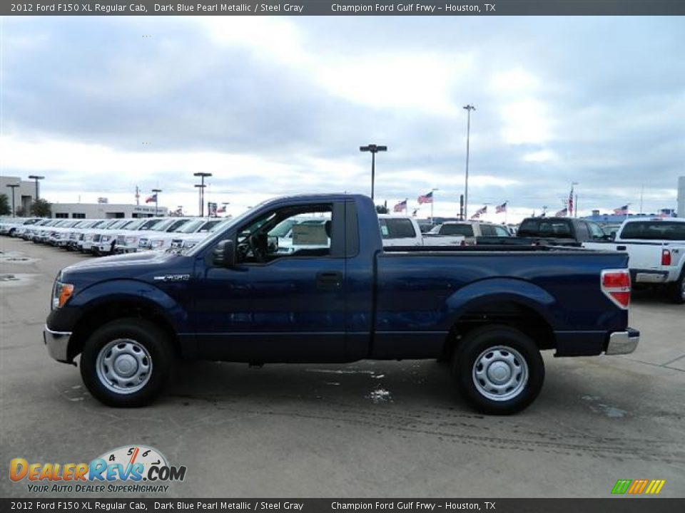 2012 ford f150 xl regular cab dark blue pearl metallic steel gray photo 8. Black Bedroom Furniture Sets. Home Design Ideas