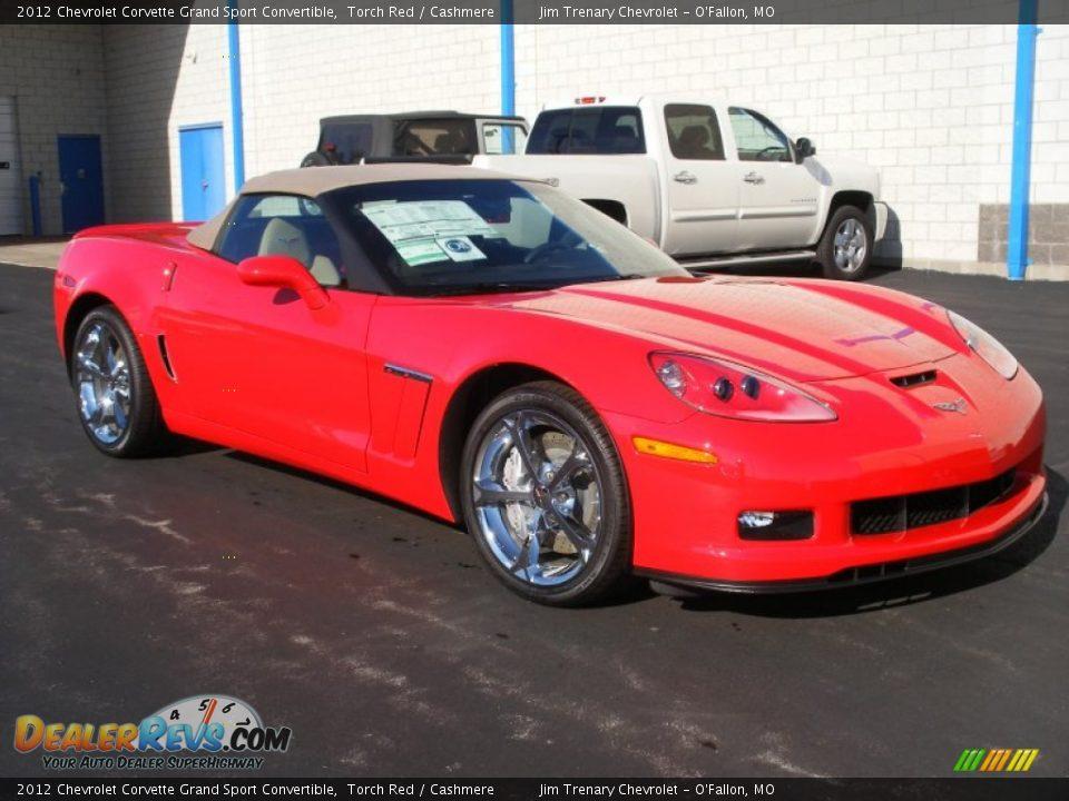 2012 chevrolet corvette grand sport convertible torch red cashmere photo 9. Black Bedroom Furniture Sets. Home Design Ideas