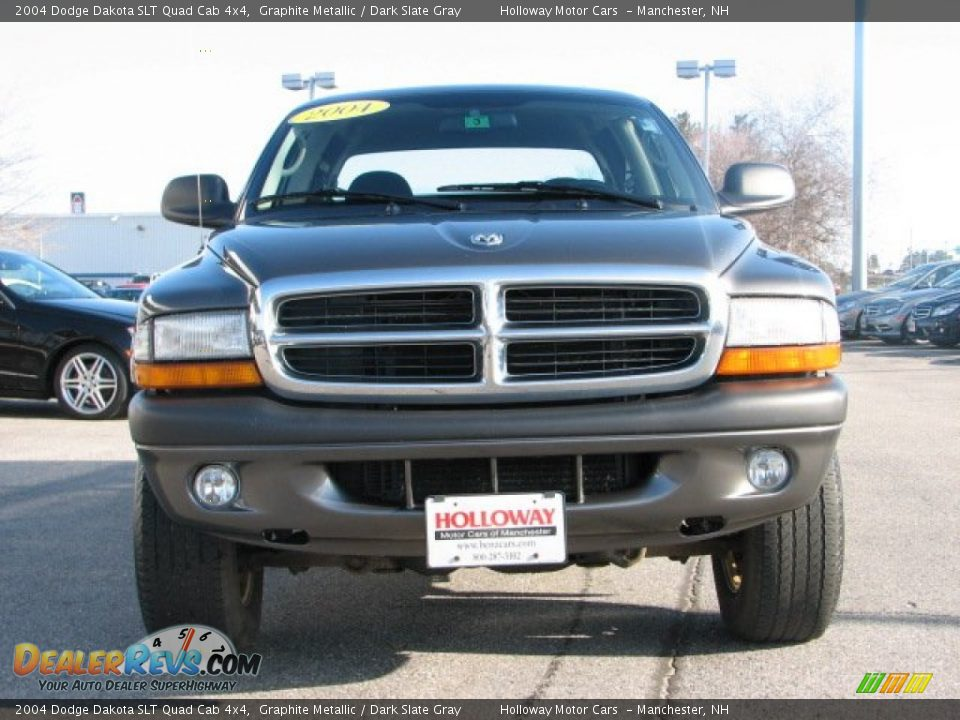 2004 Dodge Dakota Slt Quad Cab 4x4 Graphite Metallic