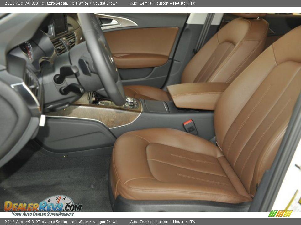 Audi A6 Nougat Brown Interior Nougat Brown Interior 2012 Audi At Quattro Sedan 2012 Audi At