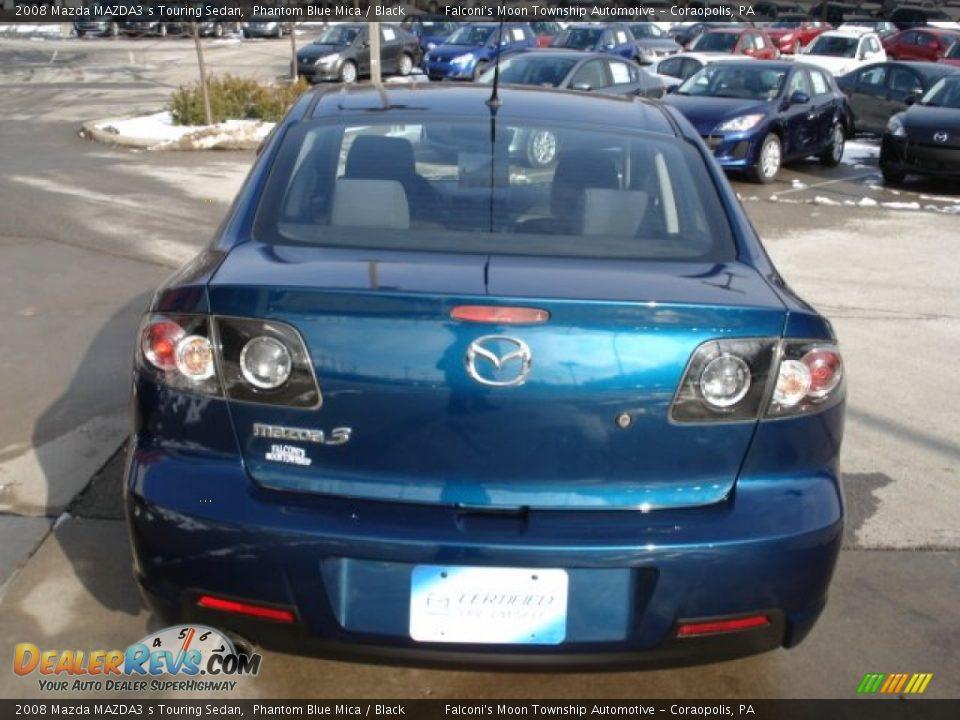 2008 Mazda MAZDA3 s Touring Sedan Phantom Blue Mica ...