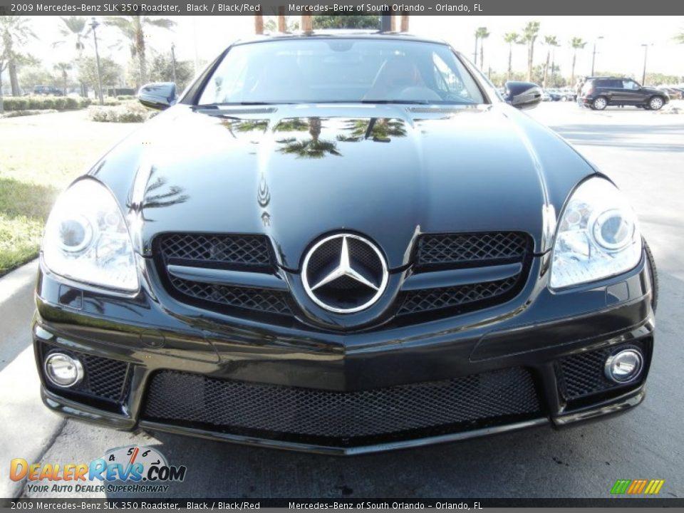 2009 mercedes benz slk 350 roadster black black red for 2009 mercedes benz slk350
