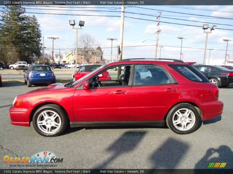 2002 Subaru Impreza Wrx Wagon Sedona Red Pearl Black