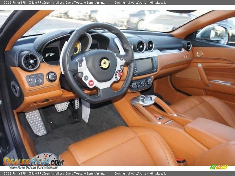 Cuoio Toscano Semi Anilina Interior 2012 Ferrari Ff Photo 18