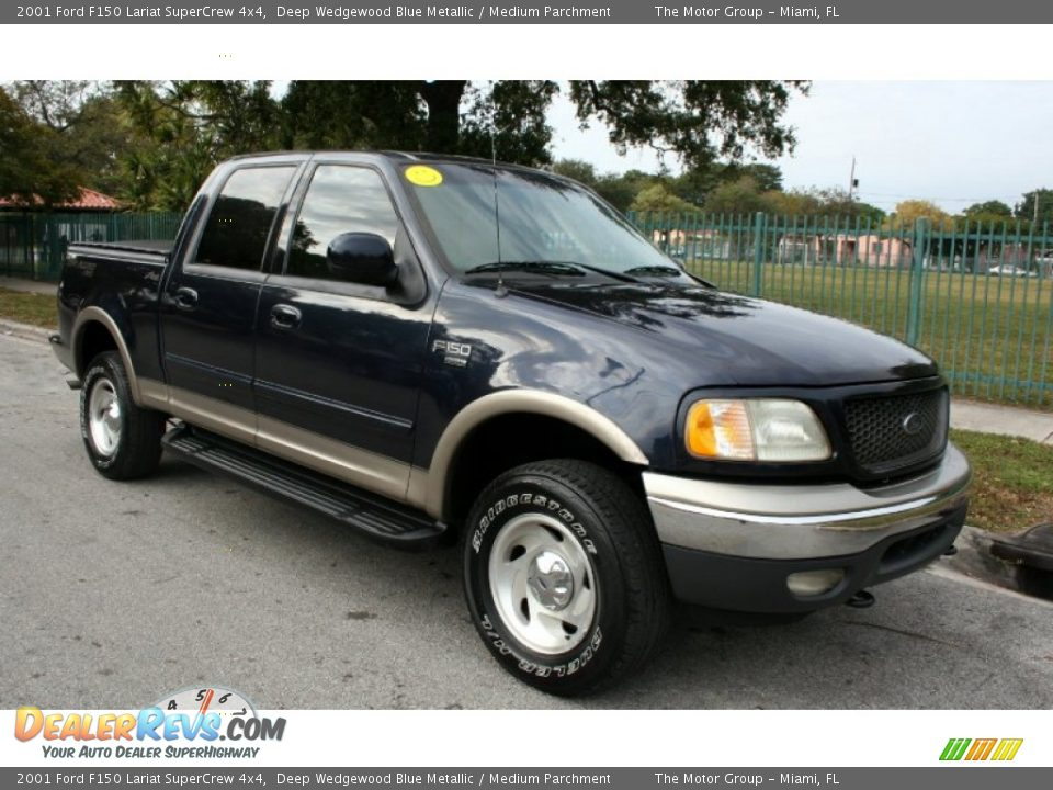 2001 ford f150 lariat supercrew 4x4 deep wedgewood blue metallic. Cars Review. Best American Auto & Cars Review