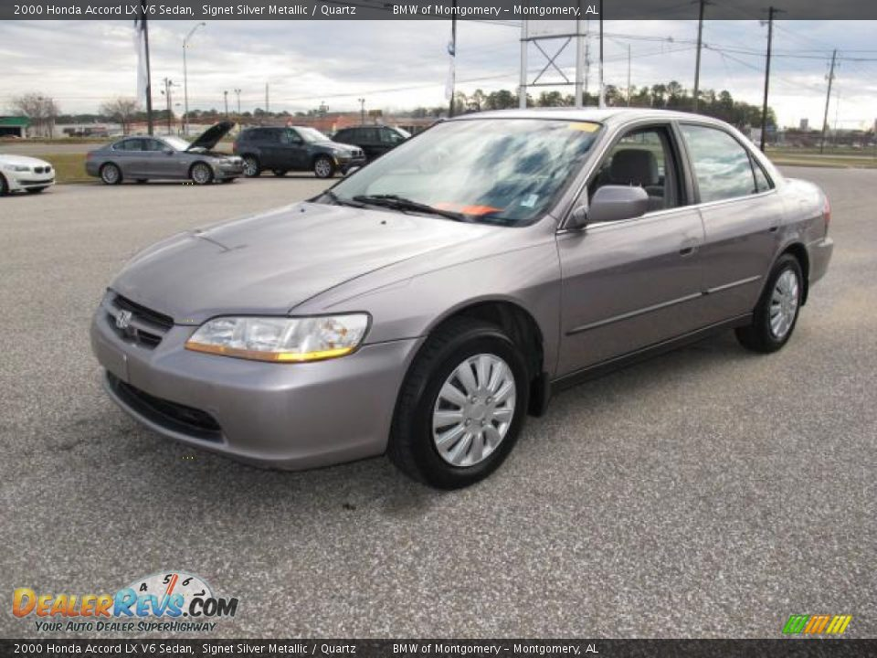2000 Honda Accord LX V6 Sedan Signet Silver Metallic ...