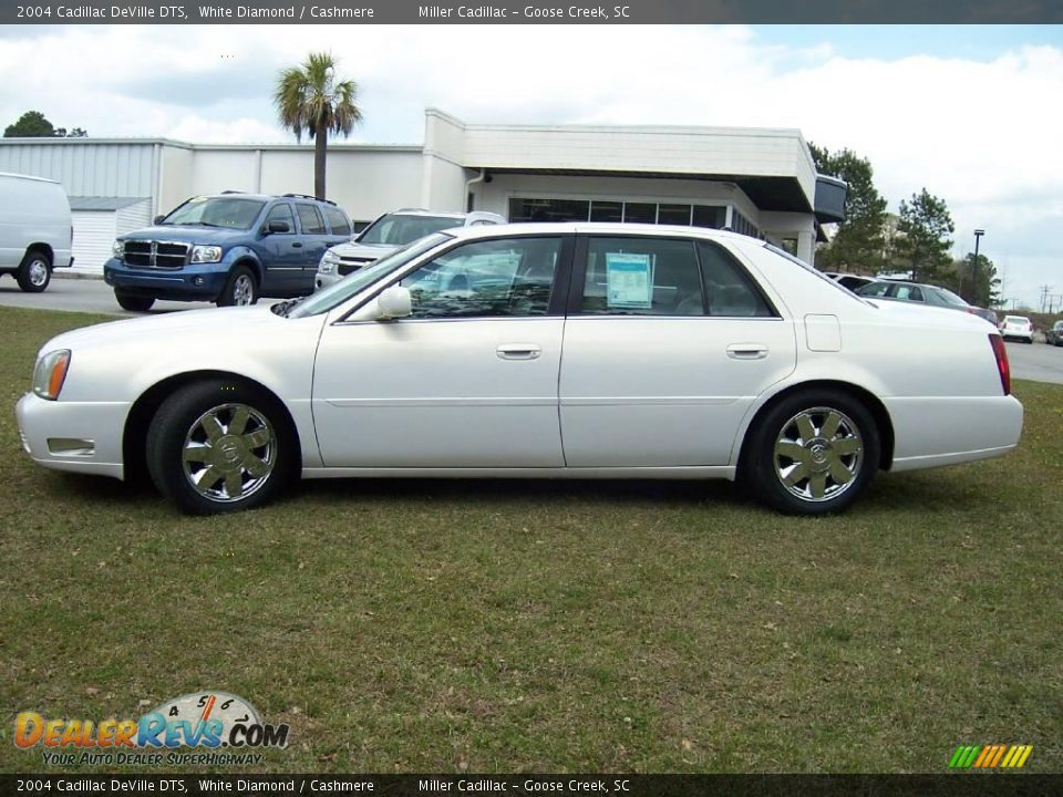 2004 cadillac deville dts white diamond cashmere photo 2. Cars Review. Best American Auto & Cars Review