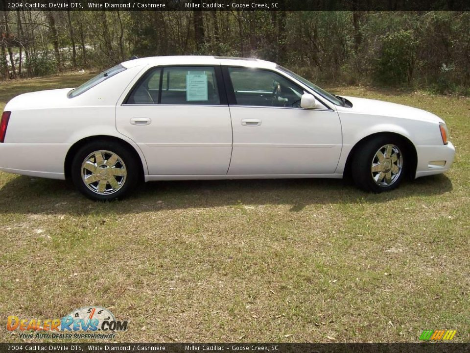 2004 cadillac deville dts white diamond cashmere photo 4. Cars Review. Best American Auto & Cars Review