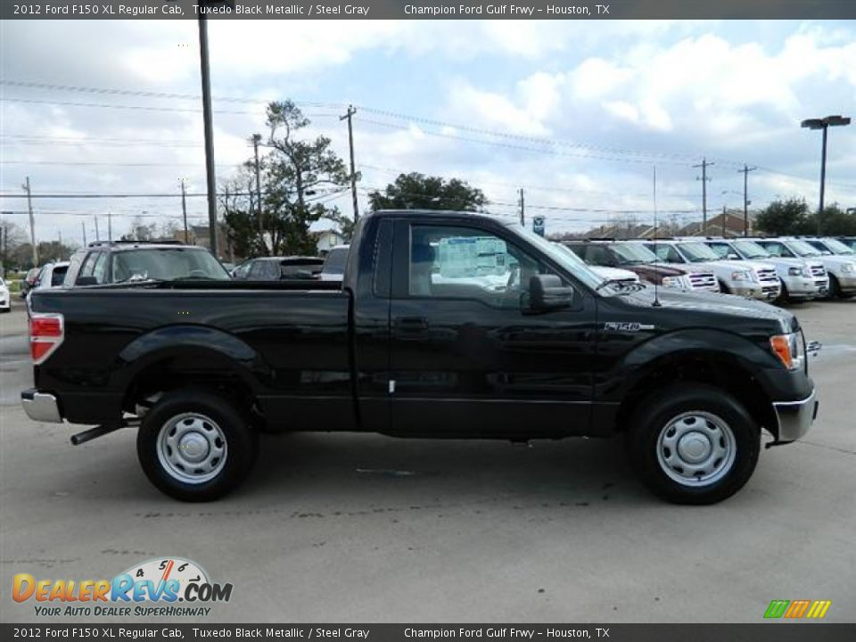 2012 ford f150 xl regular cab tuxedo black metallic steel gray photo 4. Black Bedroom Furniture Sets. Home Design Ideas