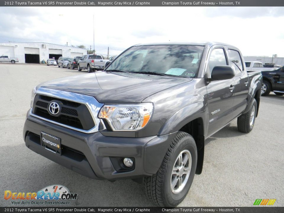 2012 toyota tacoma v6 sr5 prerunner double cab magnetic gray mica graphite photo 1. Black Bedroom Furniture Sets. Home Design Ideas