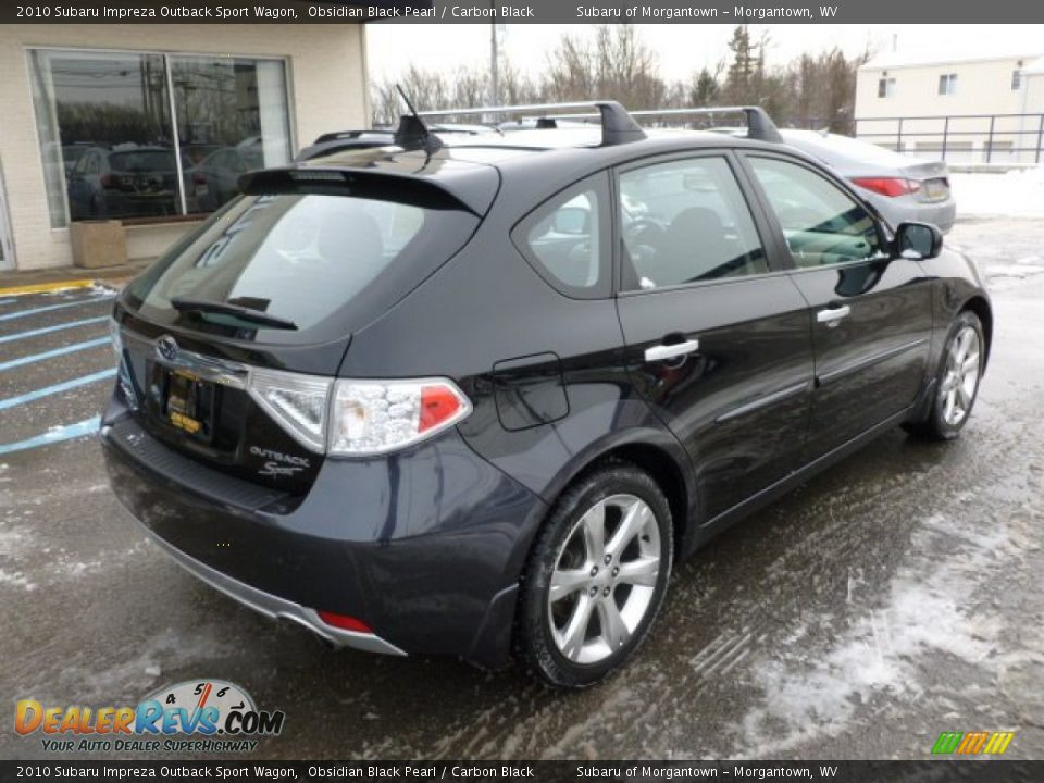 2010 subaru impreza outback subaru impreza outback sport wagon obsidian black used. Black Bedroom Furniture Sets. Home Design Ideas