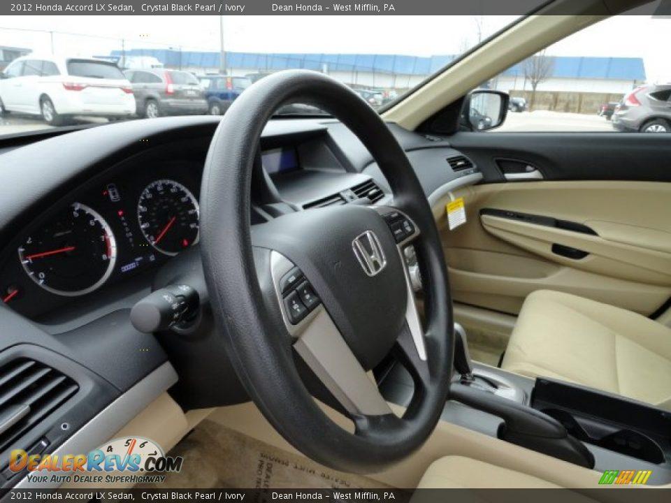 Ivory interior 2012 honda accord lx sedan photo 15 - 2012 honda accord coupe interior ...