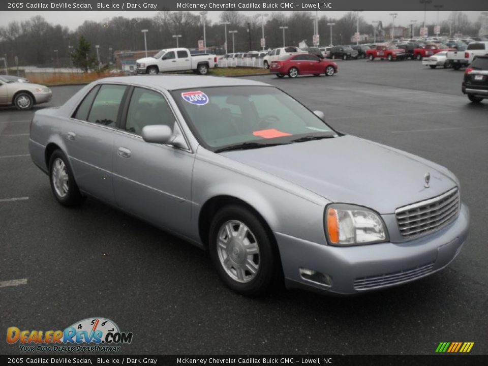 2005 cadillac deville sedan blue ice dark gray photo 5. Cars Review. Best American Auto & Cars Review