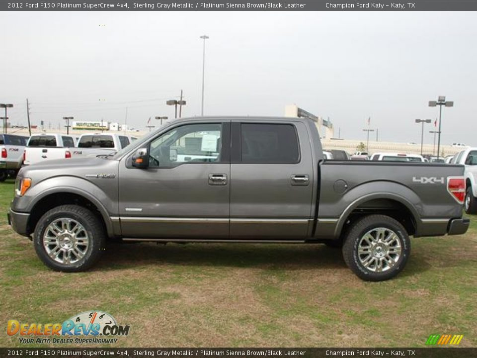 2012 Ford F150 Platinum Supercrew 4x4 Sterling Gray