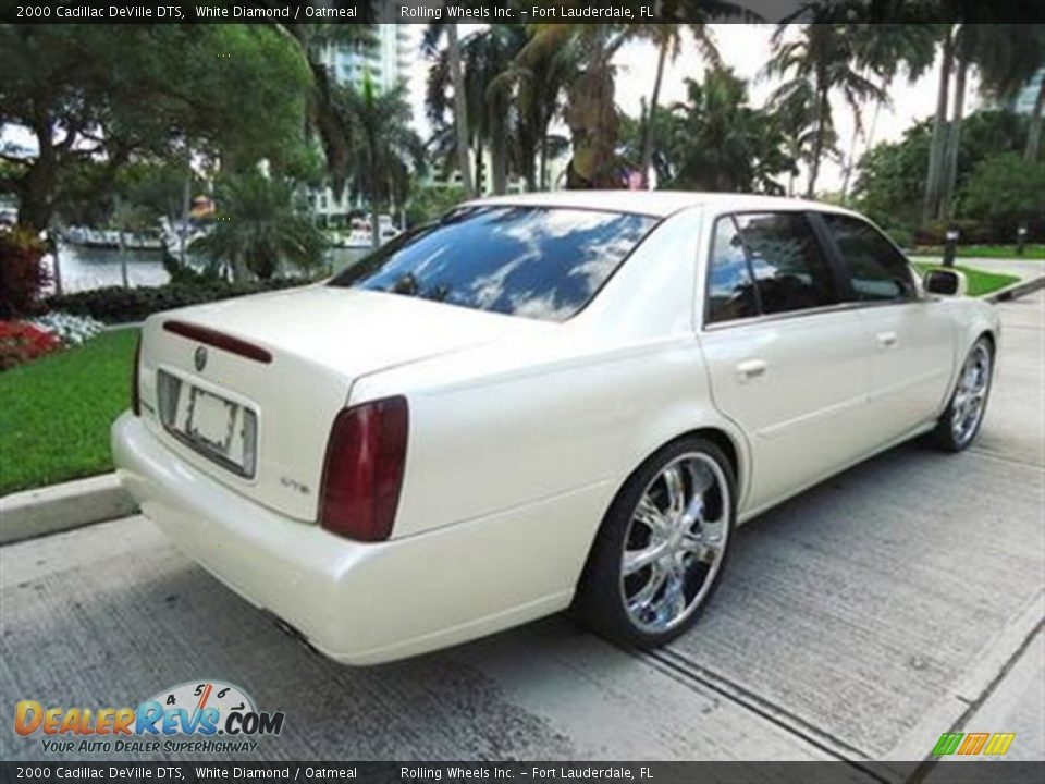 2000 cadillac deville dts