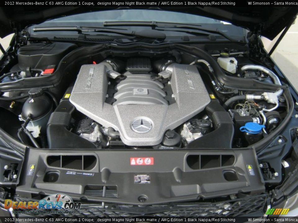 2012 mercedes benz c 63 amg edition 1 coupe 6 3 liter amg for Mercedes benz amg 6 3 liter v8 price