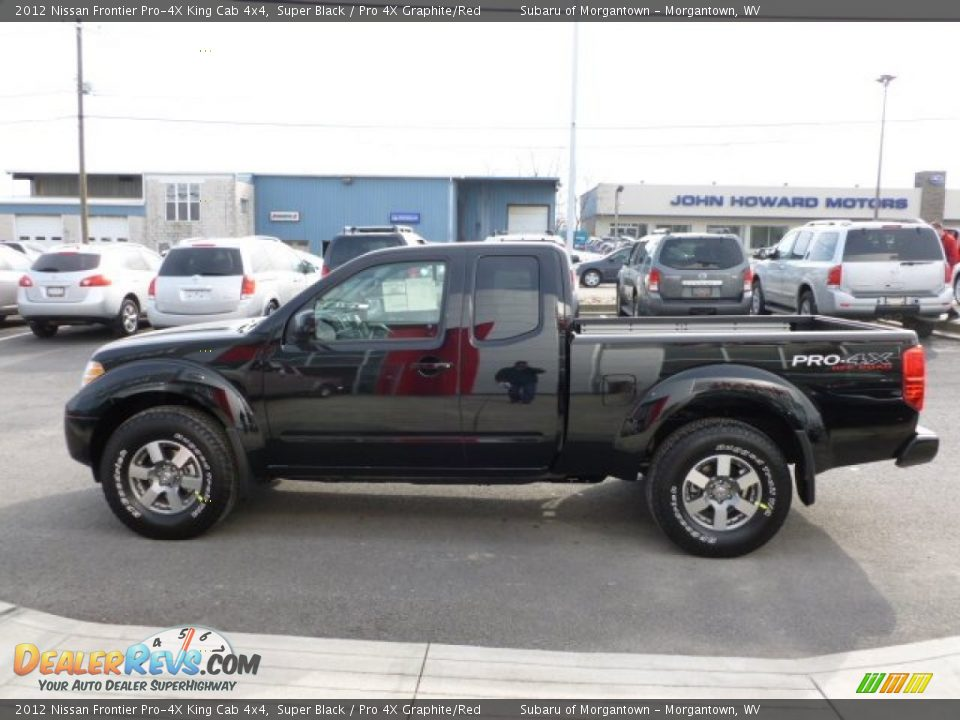 Nissan Frontier Pro4x King Cab Super Black Autos Post