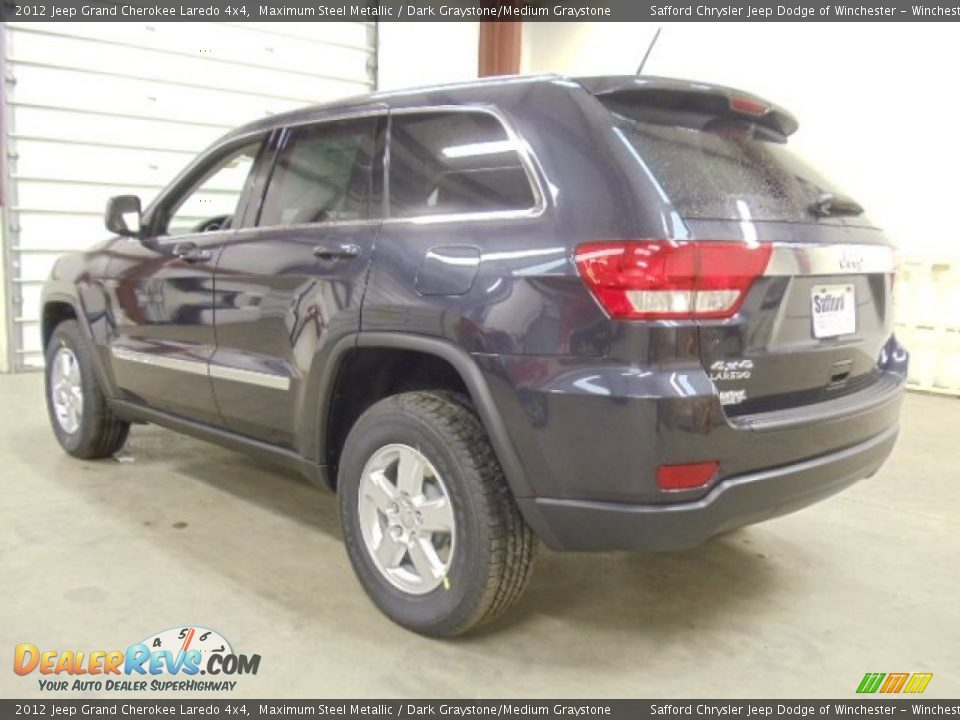 2012 Jeep Grand Cherokee Laredo 4x4 Maximum Steel Metallic