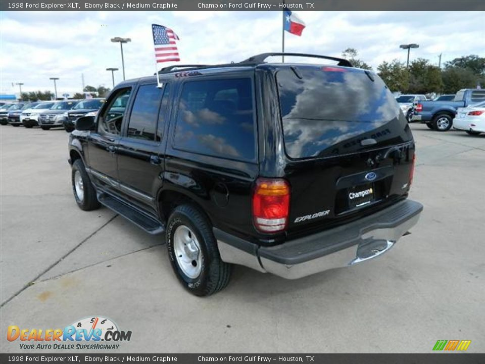 1998 Ford Explorer Xlt Ebony Black Medium Graphite Photo 7 Dealerrevs Com