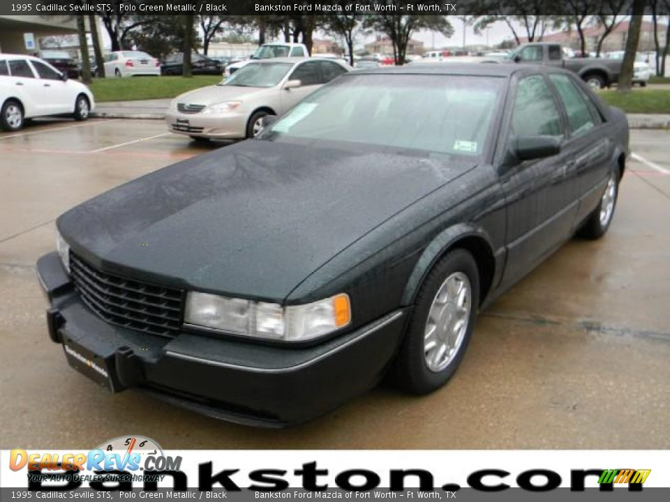 1995 Cadillac Seville Sts Polo Green Metallic Black
