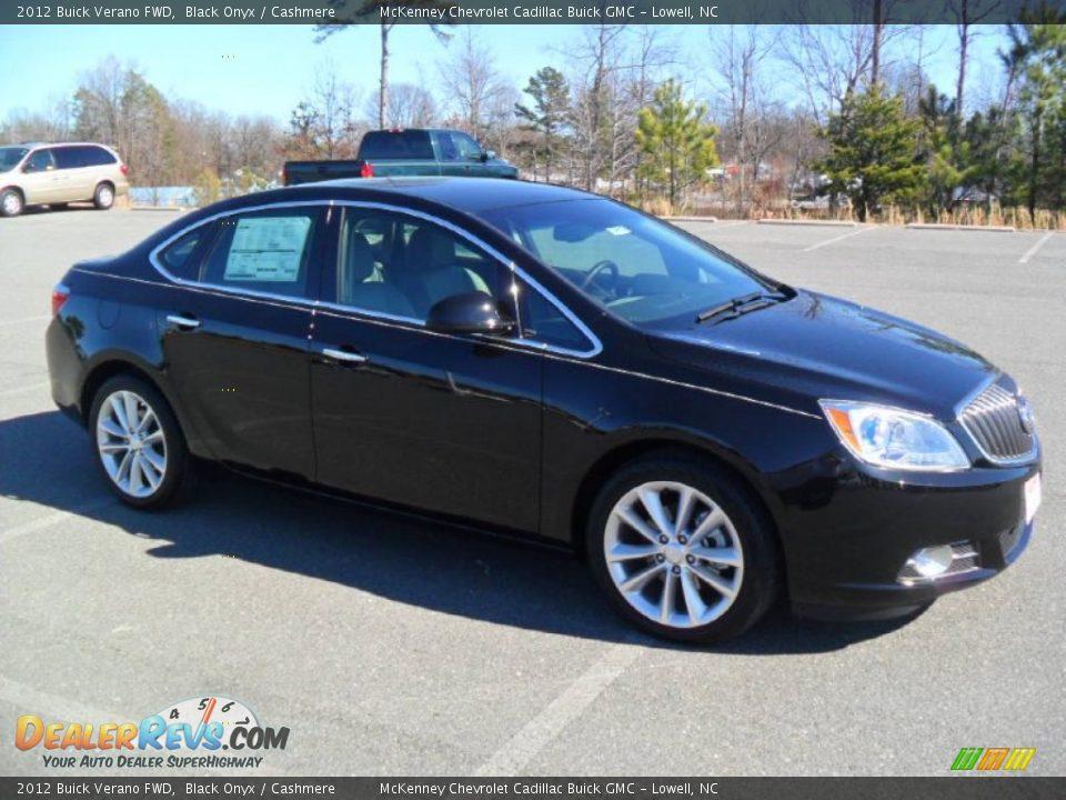 2012 Buick Verano FWD Black Onyx / Cashmere Photo #2 | DealerRevs.com