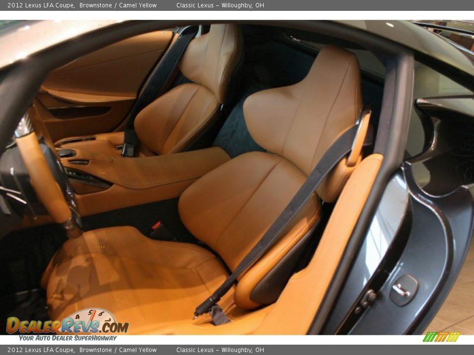 camel yellow interior - 2012 lexus lfa coupe photo #11