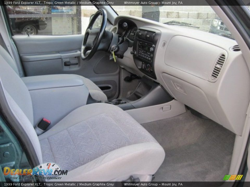 Medium Graphite Grey Interior 1999 Ford Explorer Xlt Photo 5