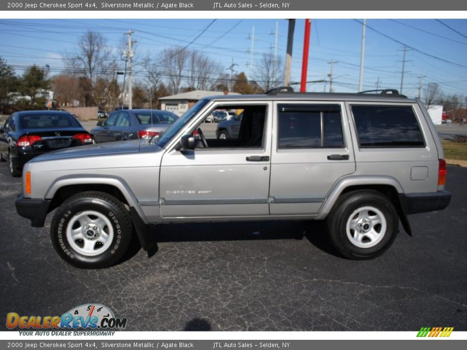 2000 jeep cherokee sport 4x4 silverstone metallic agate black photo. Cars Review. Best American Auto & Cars Review