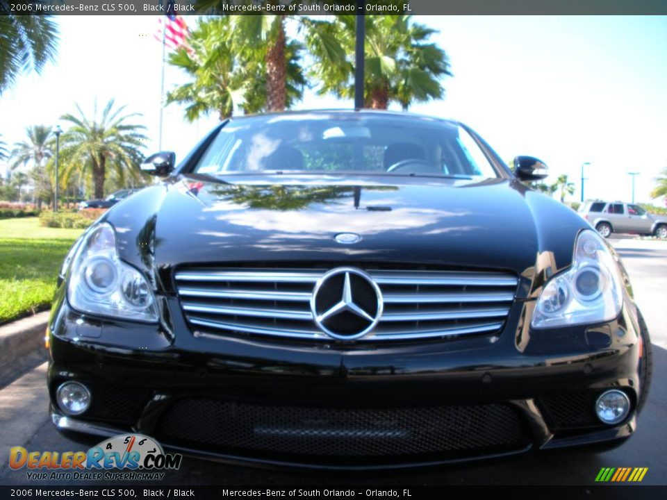2006 mercedes benz cls 500 black black photo 3. Black Bedroom Furniture Sets. Home Design Ideas