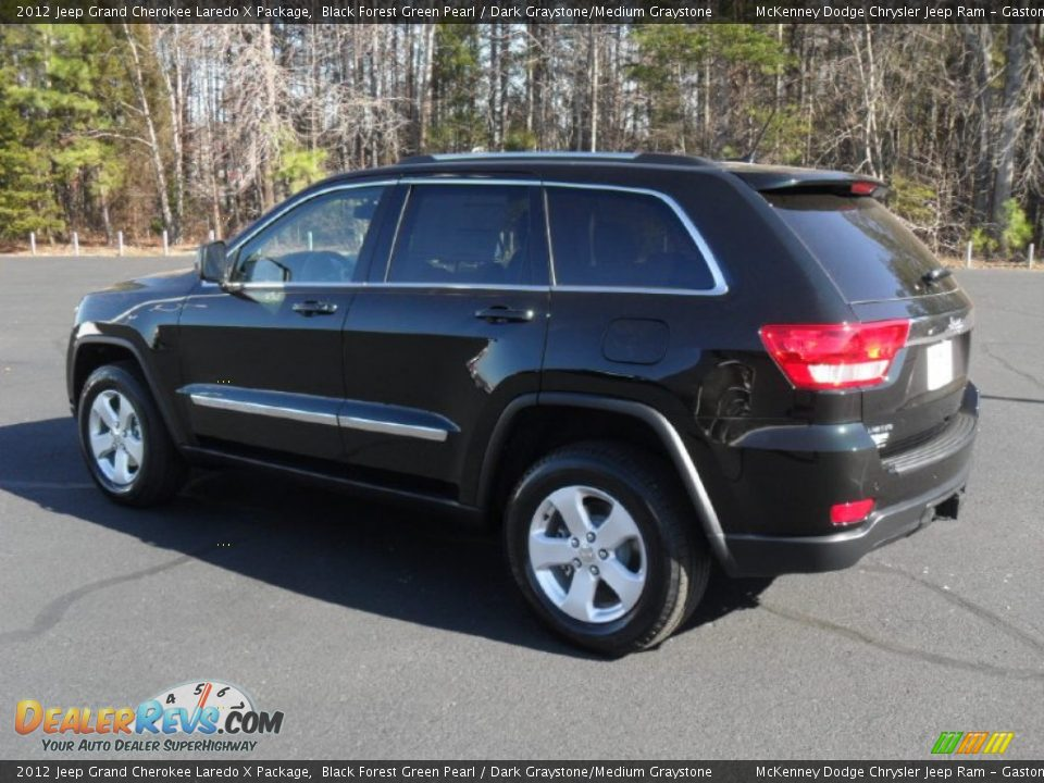 2012 jeep grand cherokee laredo x package black forest green pearl. Cars Review. Best American Auto & Cars Review