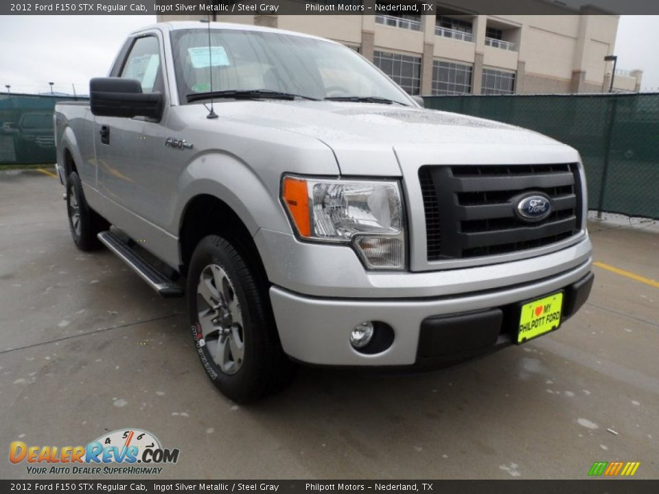 2012 ford f150 stx regular cab ingot silver metallic steel gray photo 1. Black Bedroom Furniture Sets. Home Design Ideas