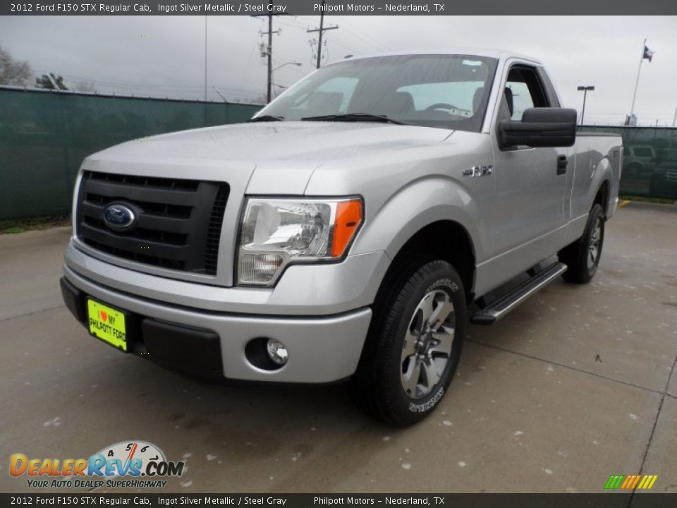 2012 ford f150 stx regular cab ingot silver metallic steel gray photo 7. Black Bedroom Furniture Sets. Home Design Ideas