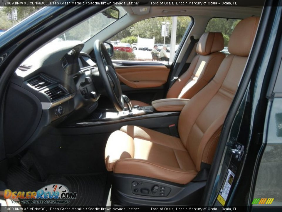 Saddle Brown Nevada Leather Interior