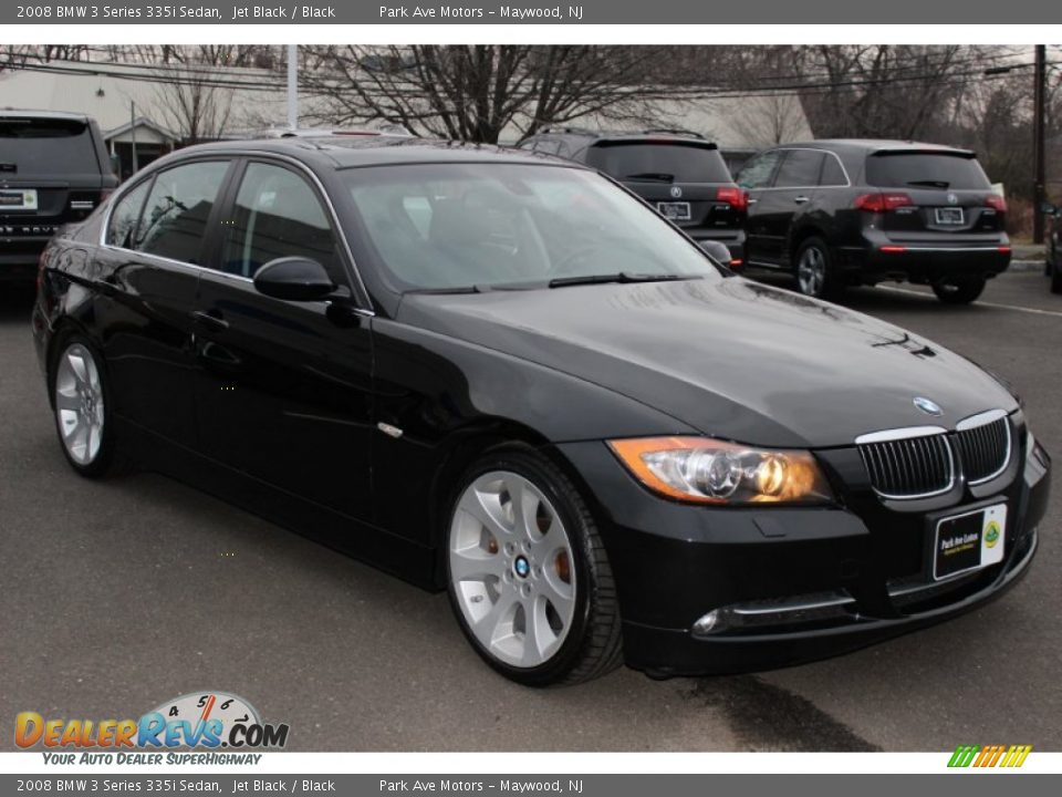 2008 bmw 3 series 335i sedan jet black black photo 3. Black Bedroom Furniture Sets. Home Design Ideas