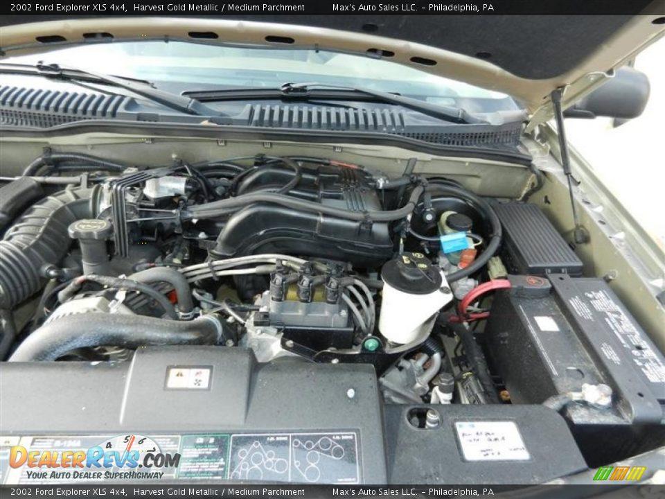 2002 ford explorer xls 4x4 4 0 liter sohc 12 valve v6 engine photo 14. Black Bedroom Furniture Sets. Home Design Ideas