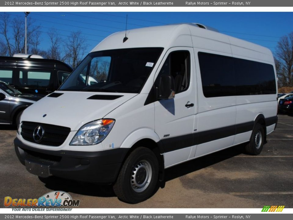 2012 mercedes benz sprinter 2500 high roof passenger van for Mercedes benz sprinter service