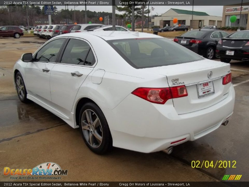 2012 acura tsx special edition sedan bellanova white pearl. Black Bedroom Furniture Sets. Home Design Ideas