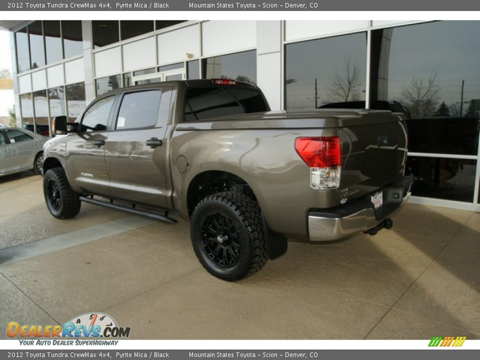 2012 Toyota Tundra Crewmax 4x4 Pyrite Mica Black Photo