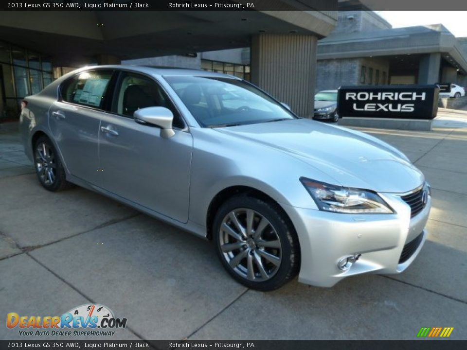 2013 lexus gs 350 awd liquid platinum black photo 6. Black Bedroom Furniture Sets. Home Design Ideas