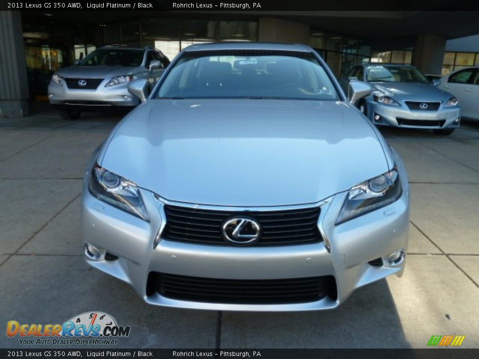 liquid platinum 2013 lexus gs 350 awd photo 7. Black Bedroom Furniture Sets. Home Design Ideas