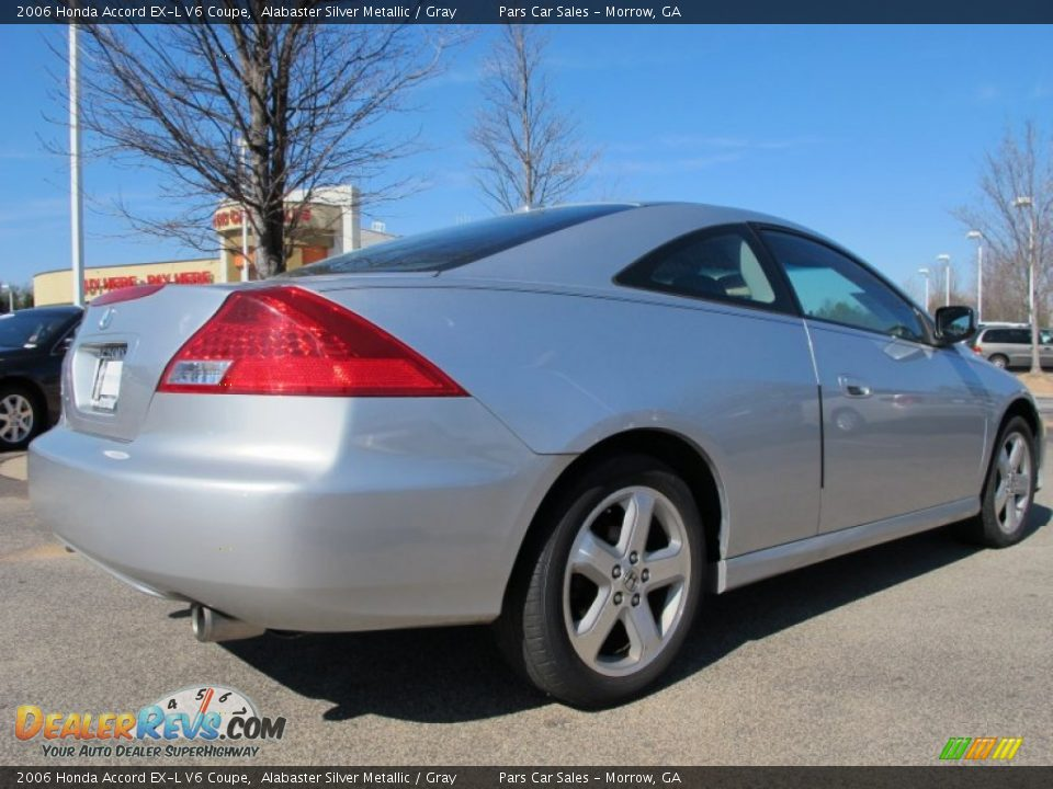 2006 honda accord ex l v6 coupe alabaster silver metallic gray photo 3. Black Bedroom Furniture Sets. Home Design Ideas