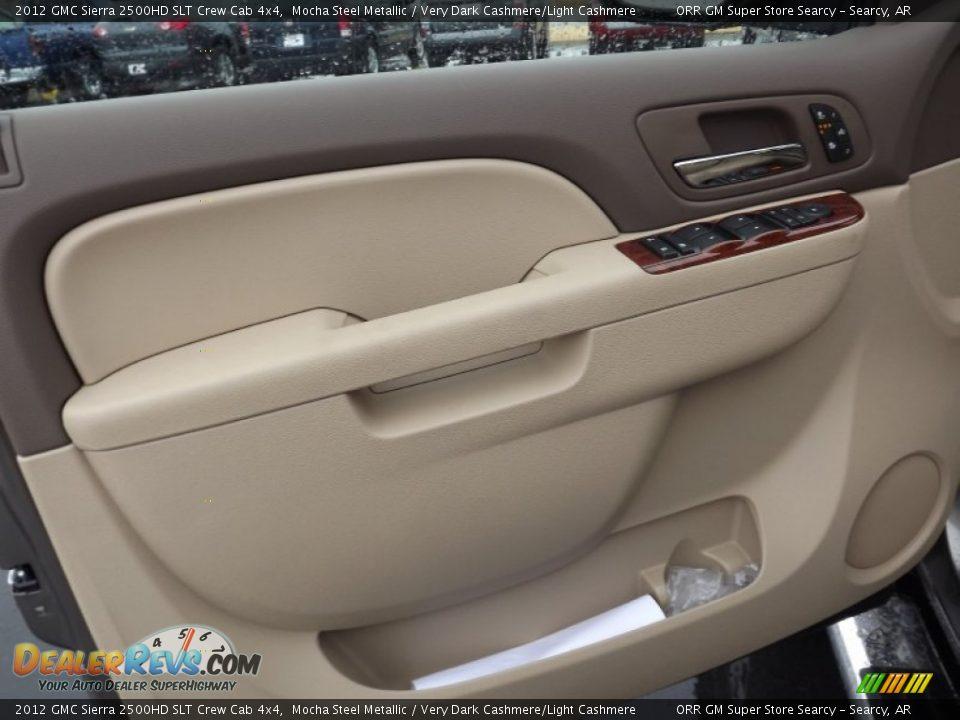 Door Panel Of 2012 Gmc Sierra 2500hd Slt Crew Cab 4x4